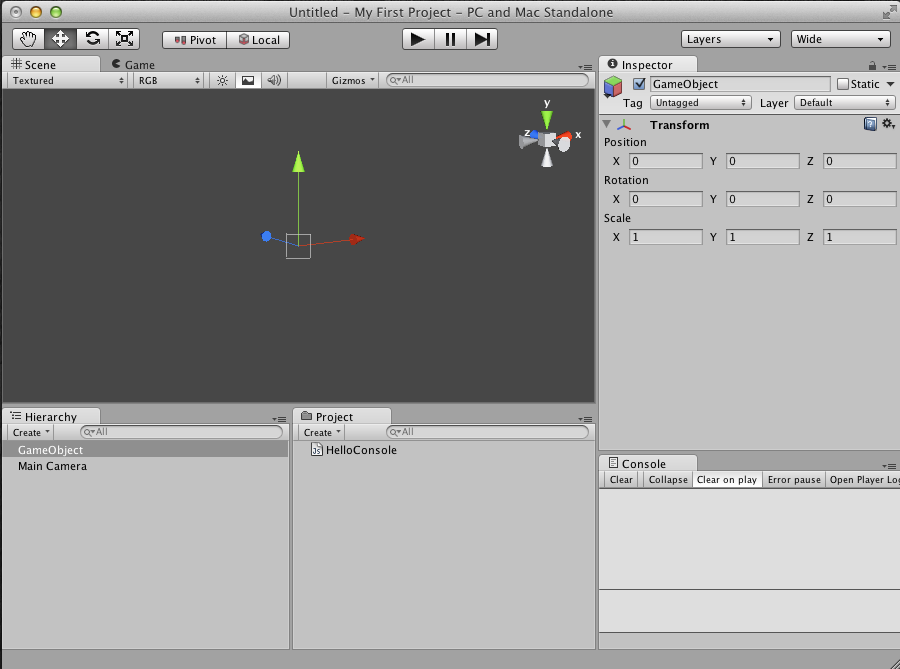 Unity UI With Empty GameObject